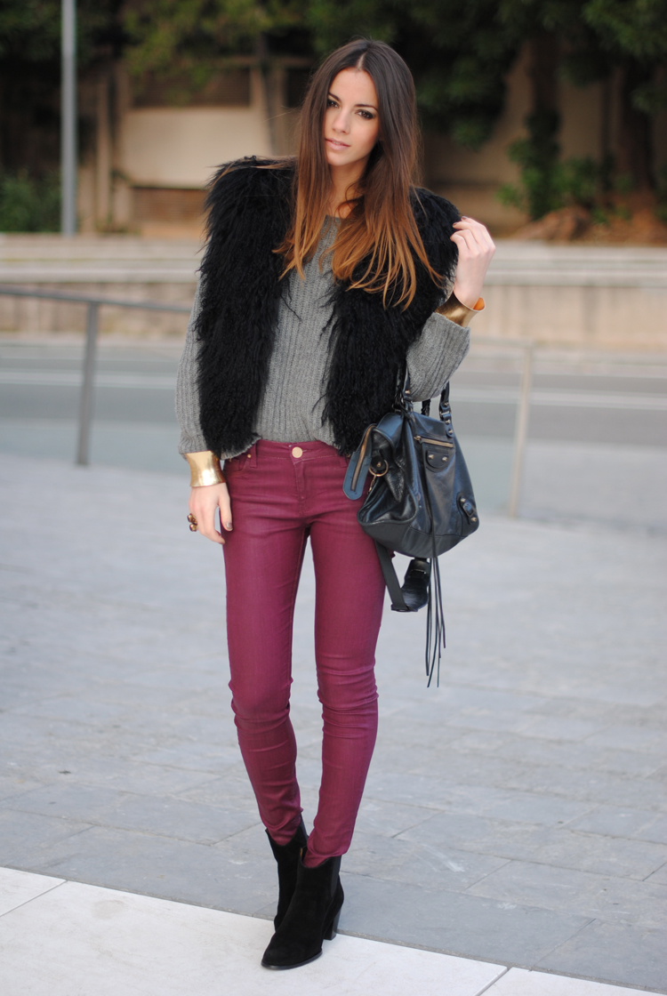 StreetStyle u2013 Burgundy Pants | BeLighter