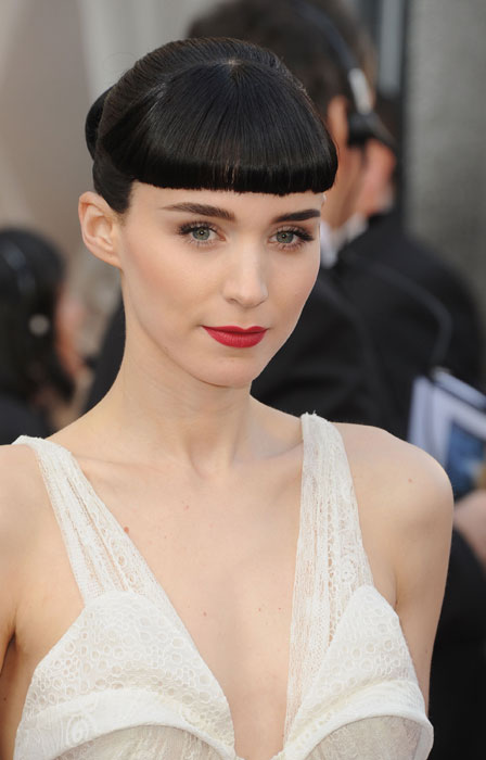 Rooney Mara at The Oscar Night 2012 Dress Givenchy Haute Couture