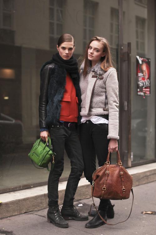 Caroline Brasch Nielsen & Nimue Smit, PFW