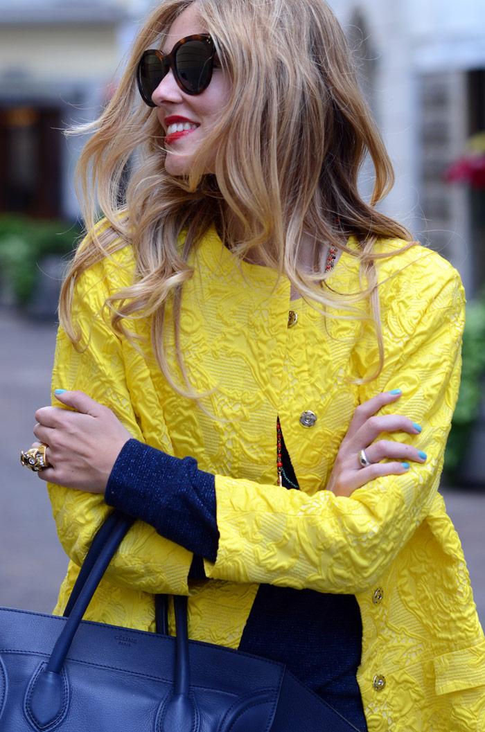 Streetstyle Yellow Jacket Belighter