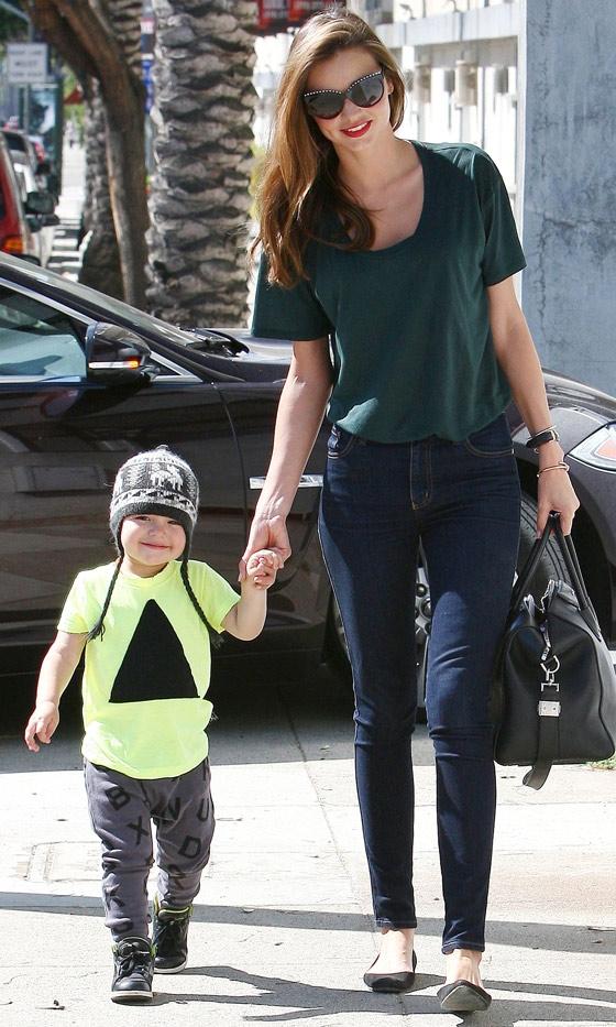 Street Style Miranda Kerr Flynn Bloom Belighter