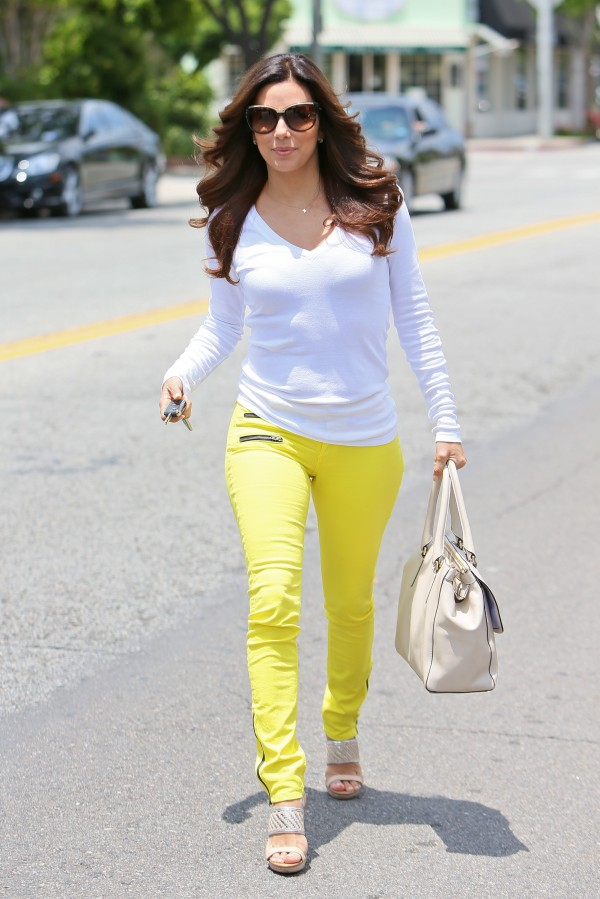Street Style Eva Longoria Belighter