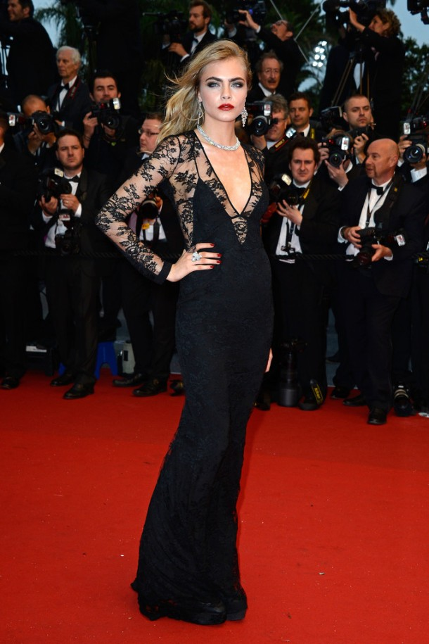Cara Delevingne Arrivals at the Cannes Opening Ceremony-001