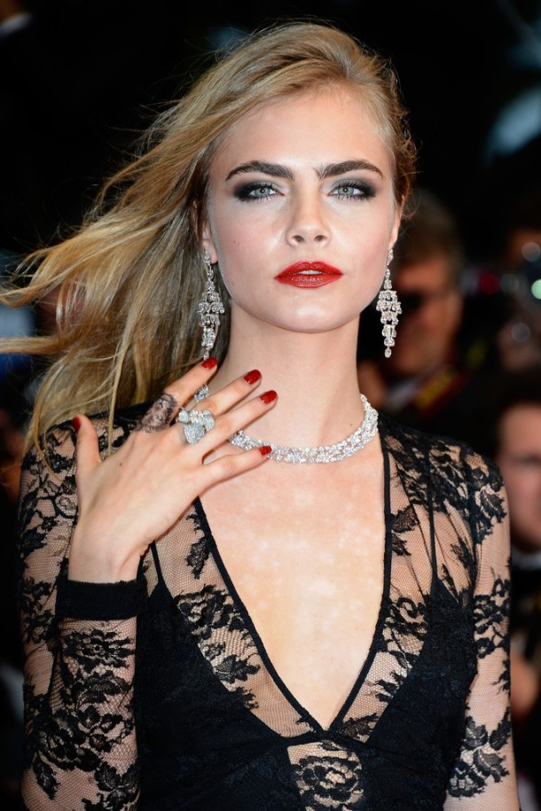 Cara Delevingne Arrivals at the Cannes Opening Ceremony-002