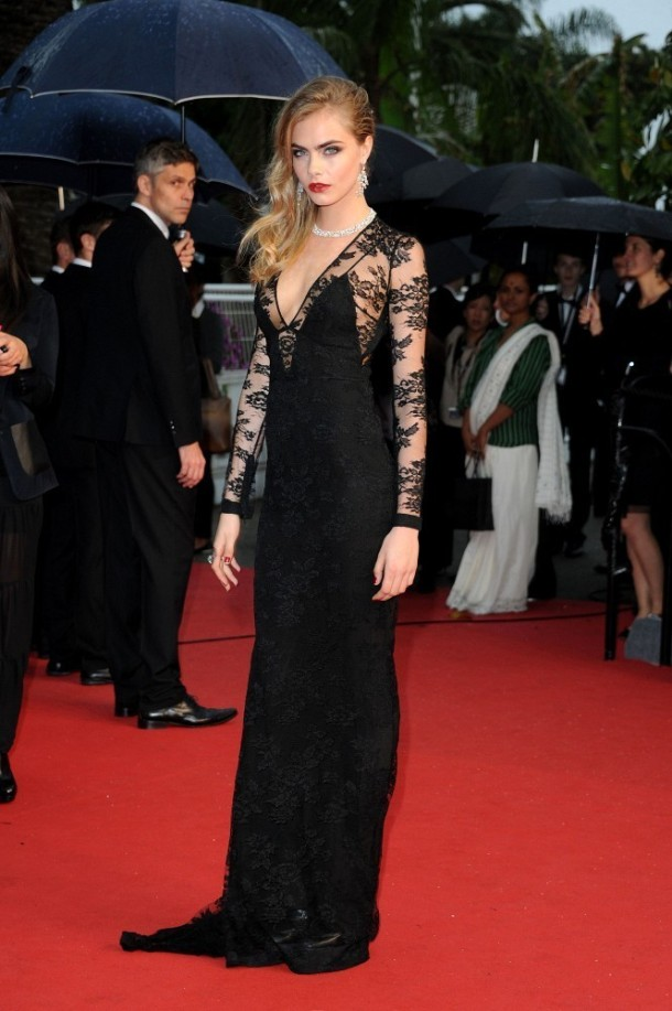 Cara Delevingne Arrivals at the Cannes Opening Ceremony