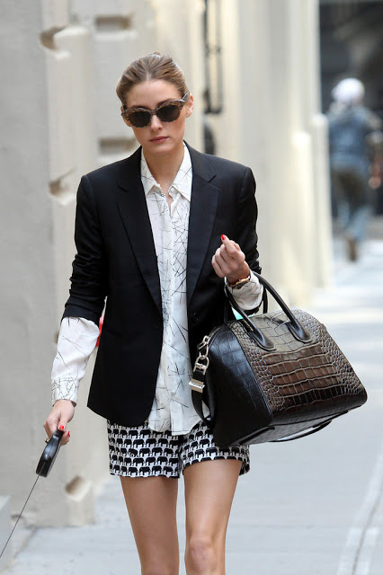 Olivia_Palermo_wearing_dark_blazer_white_blouse