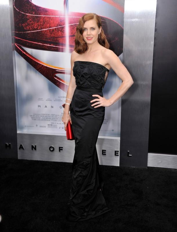 Amy Adams Man of Steel premiere