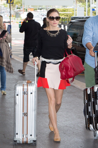Celebrity Sightings At The Nice Airport - The 66th Annual Cannes Film Festival Day 11