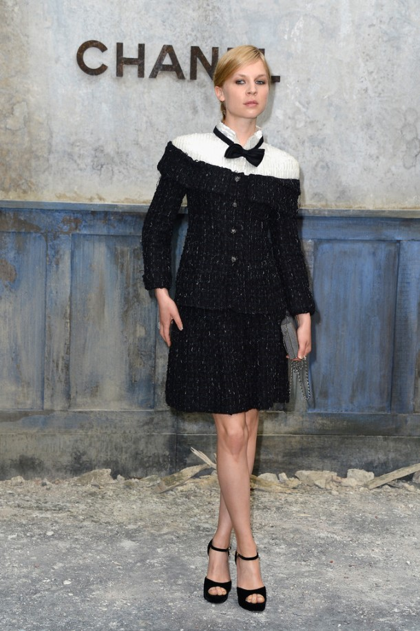 Clemence-Poesy-Chanel-Haute-Couture-Fall-2013-Front-Row-