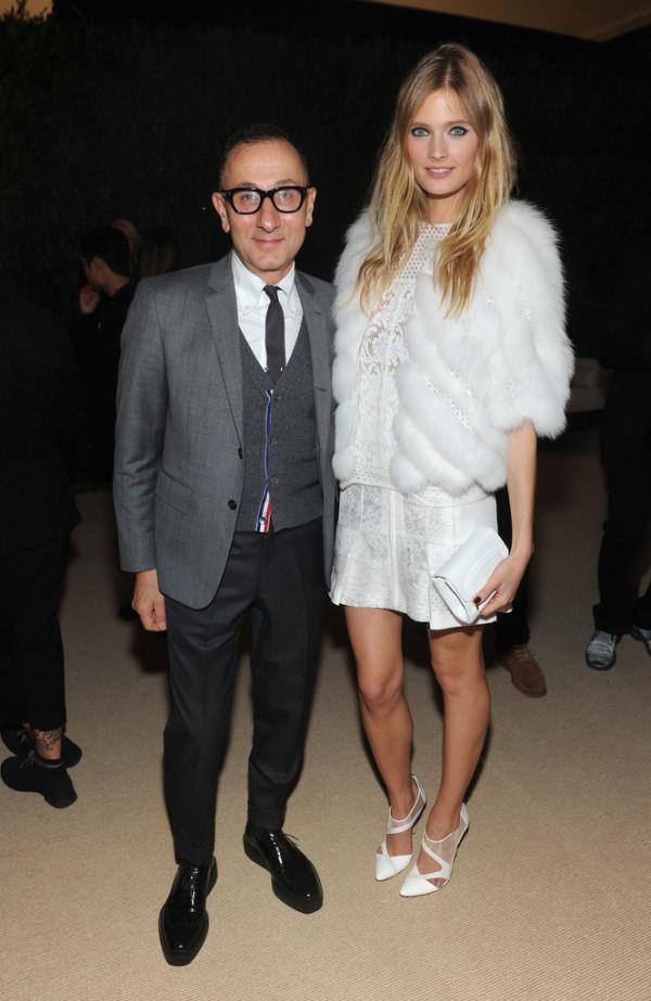 Constance-Jablonski-in-J-Mendel-CFDA-and-Vogue-2013-Fashion-Fund-Finalists-Celebration--600x923