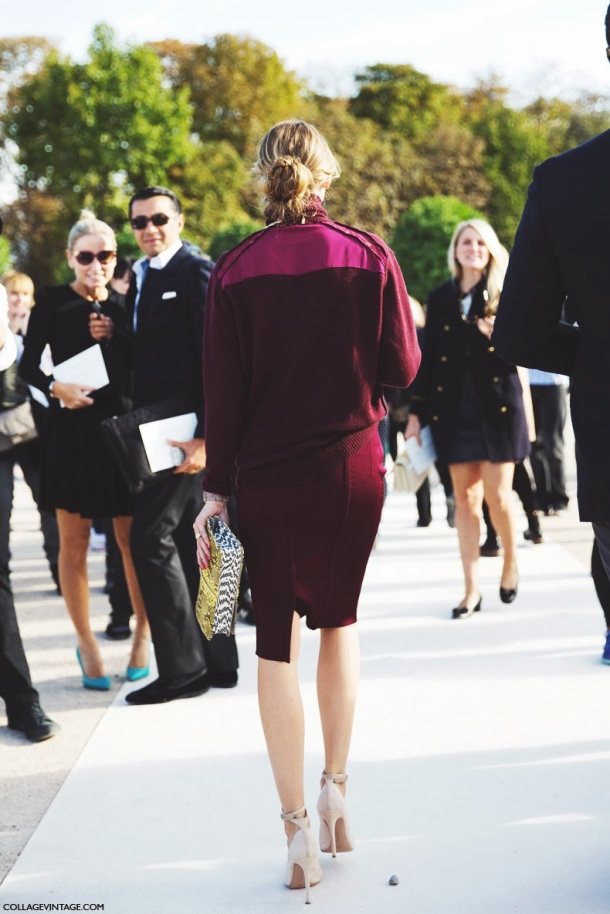 Paris_Fashion_Week_Spring_Summer_15-PFW-Street_Style-Olivia_Palermo-Nina_ricci-Burgundy-Pencil_Skirt-