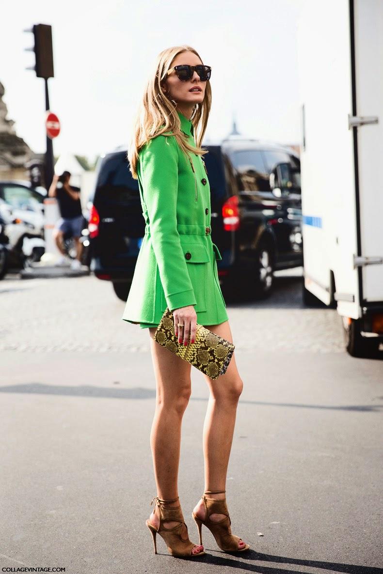 Olivia Palermo At Pfw Paris Belighter